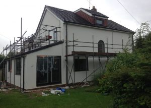 krend colour silicone render job harrogate