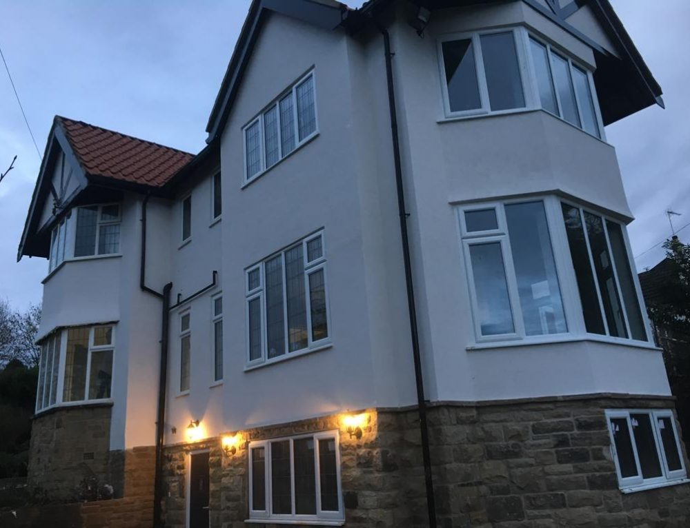 Rendering Leeds – K Rend Colour Render Job