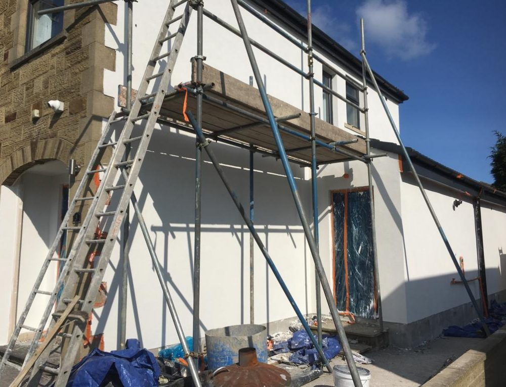 Colour Silicone Rendering Job in Bradford