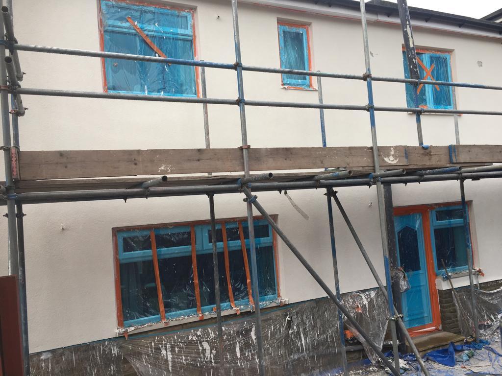 Colour Rendering Job Of House In Halifax Bradford Leeds