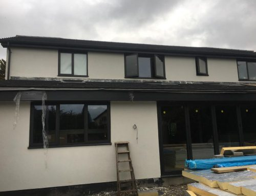 Colour Silicone Render Project in Menston