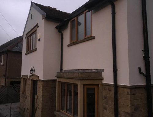 Colour Silicone Rendering Huddersfield
