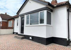 colour render job bungalow leeds